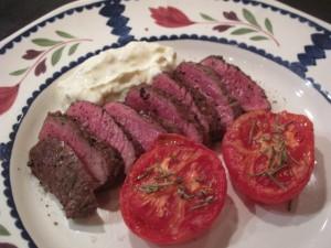 lammfile m rostade tomater o chevremousse 1 Katinkas Kitchen