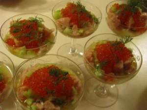 salmon ceviche swe style Katinkas Kitchen