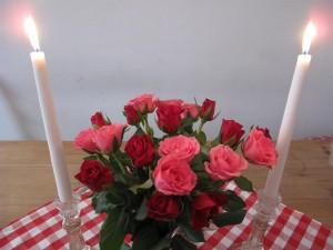 roses on table 1 Katinkas Kitchen