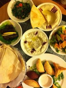 Mixed libanesisk grill   Katinkas Kitchen